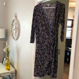 H&M size L wrap dress